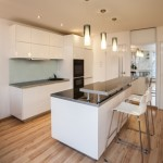 Stylish flat - Kitchen with white colors